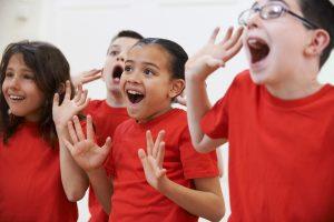 Kids being shocked!